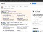 Rozšířené sitelinky u brandu airfrance (google.co.uk)